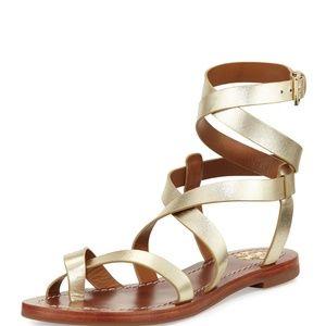 NWOT Tory Burch  Flat Gladiator Sandal, 8.5